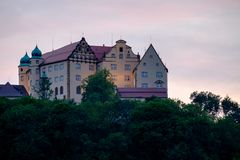 Castello Kapfenburg in Germania fotografia stock