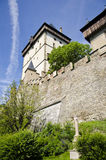 Castello Karlstejn Fotografia Stock Libera da Diritti