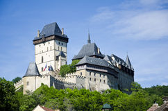Castello Karlstejn fotografia stock