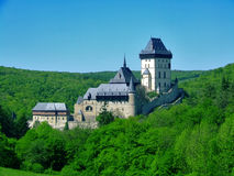 Castello Karlstejn Immagini Stock