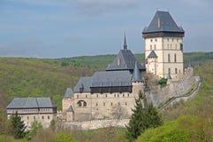 Castello Karlstejn, repubblica Ceca Fotografia Stock