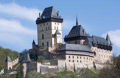 Castello Karlstejn, repubblica Ceca Fotografia Stock Libera da Diritti