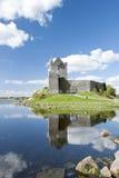 Castello in Kinvara, Irlanda di Dunguaire. Fotografia Stock Libera da Diritti