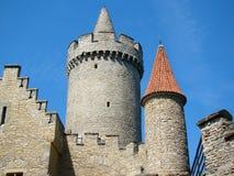 Castello Kokorin immagini stock libere da diritti