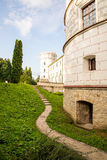 Castello Krasiczyn fotografie stock libere da diritti