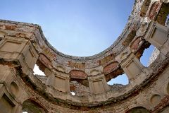 Castello Krzyztopor Fotografie Stock Libere da Diritti