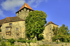Castello Lichtenberg Immagini Stock Libere da Diritti