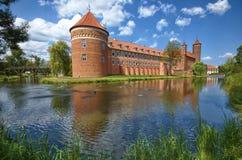Castello in Lidzbark Warminski immagine stock libera da diritti