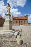 Castello in Lidzbark Warminski fotografia stock