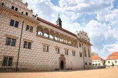 Castello Litomysl, repubblica Ceca Fotografia Stock