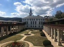 Castello Lysice fotografie stock