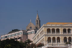 Castello a Macau Fotografia Stock Libera da Diritti