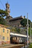 Castello Mackenziei Génova, Italia Fotos de archivo
