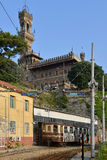 Castello Mackenziei Genua, Italien Stockfotos