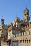 Castello Mackenziei Genua, Italien Stockbild
