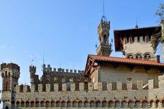 Castello Mackenziei Genua, Italien Lizenzfreie Stockfotografie