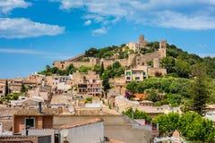 Castello Mallorca di Capdepera Immagine Stock Libera da Diritti