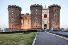 Castello Maschio Angioino Stock Photo