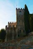 Castello and medieval walls, Conegliano Veneto Stock Photos