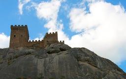 Castello medievale Fotografia Stock