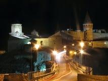 Castello medievale Immagini Stock