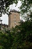 Castello medievale Belgio di Reinhardstein Immagine Stock Libera da Diritti