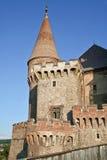 Castello medievale di Corvin, Hunedoara, Romania Immagine Stock