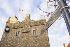 Castello medievale in Irlanda Fotografie Stock Libere da Diritti