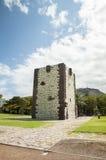 Castello medievale molto vecchio sull'isola di La Gomera Fotografia Stock