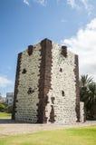 Castello medievale molto vecchio sull'isola di La Gomera Immagine Stock Libera da Diritti