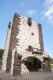 Castello medievale molto vecchio sull'isola di La Gomera Fotografia Stock Libera da Diritti