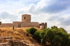 Castello medievale in Spagna del sud Fotografia Stock Libera da Diritti