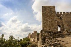 Castello medievale in Spagna del sud Immagine Stock Libera da Diritti