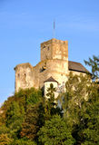 Castello medievale Zamek Dunajec in Niedzica, Polonia Immagine Stock