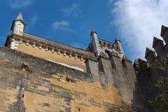 Castello medioevale di Almodovar Del Rio in spagna Fotografia Stock