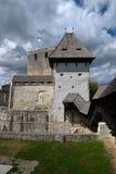 Castello medioevale europeo Immagine Stock
