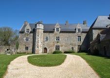 Castello medioevale in Francia Fotografia Stock