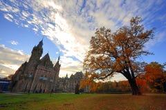 Castello medioevale in Polonia Fotografia Stock