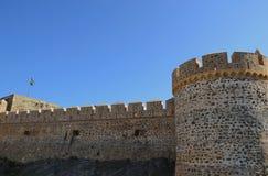 Castello medioevale in spagna Fotografie Stock