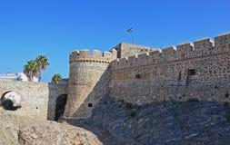 Castello medioevale in spagna Fotografia Stock Libera da Diritti
