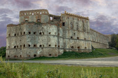 Castello in Medzhybizh, Ucraina Fotografie Stock