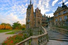 Castello misterioso Immagine Stock