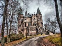 Castello mistico Immagini Stock Libere da Diritti