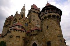 Castello mistico Immagine Stock