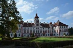 Castello Mnichovo Hradiste Immagini Stock Libere da Diritti