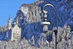 Castello a Monaco di Baviera Fotografia Stock Libera da Diritti