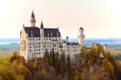 Castello a Monaco di Baviera Fotografia Stock