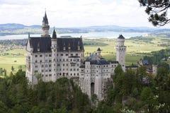 Castello a Monaco di Baviera Fotografie Stock