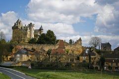 Castello Montfort Immagini Stock Libere da Diritti