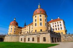 Castello Moritzburg vicino a Dresda in Sassonia, Germania immagine stock libera da diritti